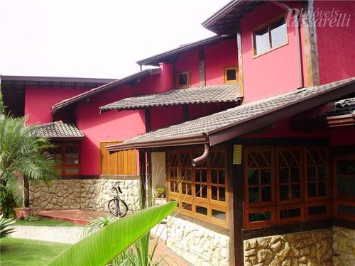 Casa Com 3 Dormitórios À Venda, 450 M² Por R$ 1.800.000,00 - Condomínio Marambaia - Vinhedo/sp - Ca1333