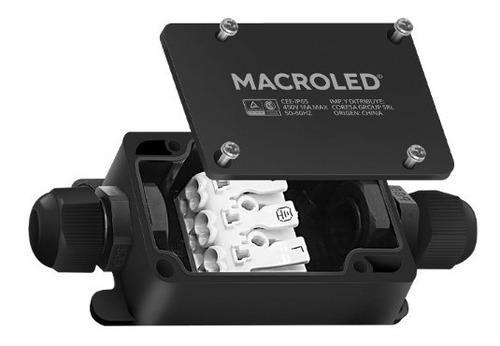 Caja Estanca Ip65 Con Bornera Macroled Max: 1000w, 450v, 16a