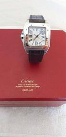 Relogio Cartier Santos Dumont 100