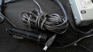 Car Battery Cord Sony Dcc-120a Salida De Voltaje Ajustable