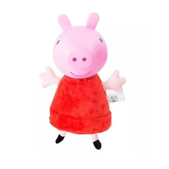 Peppa Pig Cabeça De Vinil Com Som Estrela