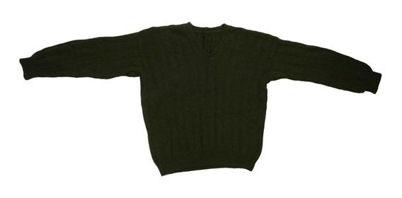 Sweater Pullover Tejido Artesanal Hombre Talle L Oferta!