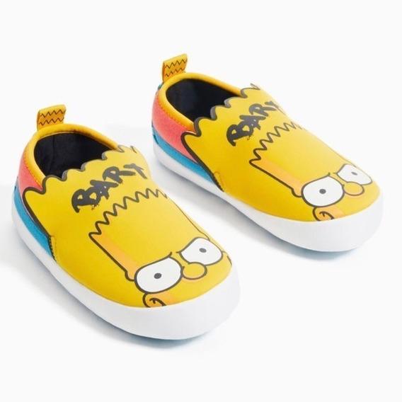 Pantufa Bart Simpson - Original - Tamanho: 36/37