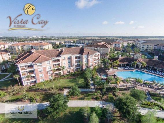 Apartamento Com 3 Dormitórios Para Alugar, 180 M² Por R$ 810,00/dia - Williamsburg - Orlando/fl - Ap0512