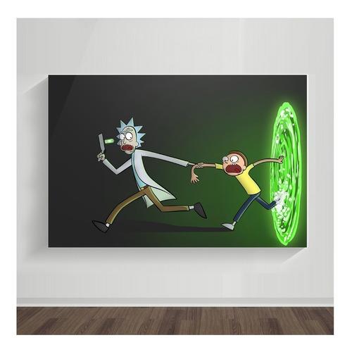Cuadro Rick Y Morty 04 - Dreamart