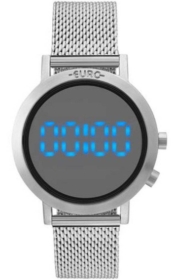 Relógio Feminino Digital Euro Fashion Prata - Eubj3407ab/3p