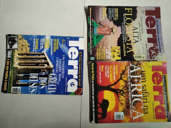 Revistas Terra,área De Turismo