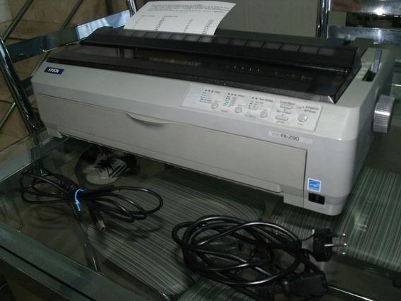 Impressora Matricial Epson Fx 2190 Perfeita E Completa E Gar