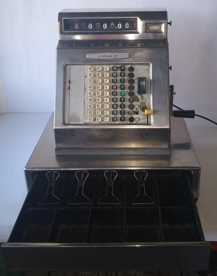 Antiga Máquina Registradora - Sweda 1960