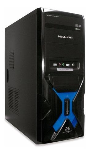Case Halion Mercury 7300a Fuente 350w Real - Nuevo Gratis