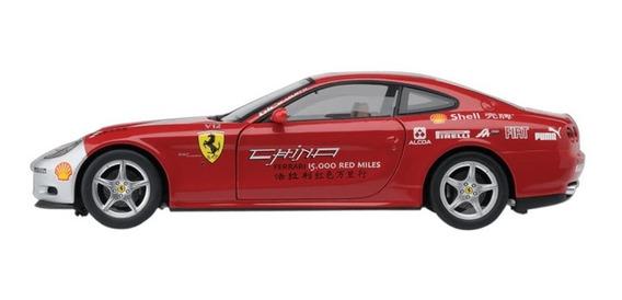 Miniatura Ferrari 612 Scaglietti China Tour 1:43 Eaglemoss