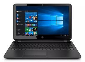 Notebook Hp 15-f246wm Intel Dual-core 4 Gb Hd 500gb Tela 15
