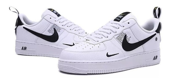 Tênis Nike Air Force Casual Unissex Grátis Par De Meias