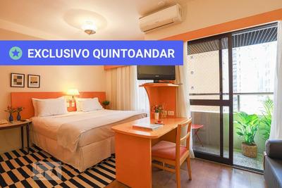 Studio No 9º Andar Mobiliado Com 1 Dormitório E 1 Garagem - Id: 892932232 - 232232