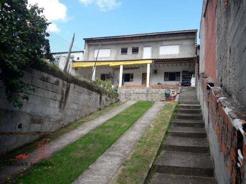 Sobrado Com 2 Dormitórios À Venda, 156 M² Por R$ 320.000 - Parque Residencial Itapeti - Mogi Das Cruzes/sp - So0035
