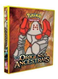 Album Pokémon Para Cards Origens Ancestrais Regirock