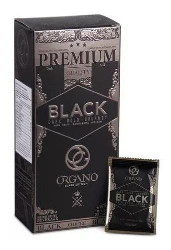 Café Negro Black Coffee Organo Gold Con Ganoderma Lucidum