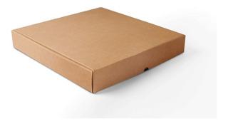 Caja Para Pizza Marron 33x33x5 X100 Uni