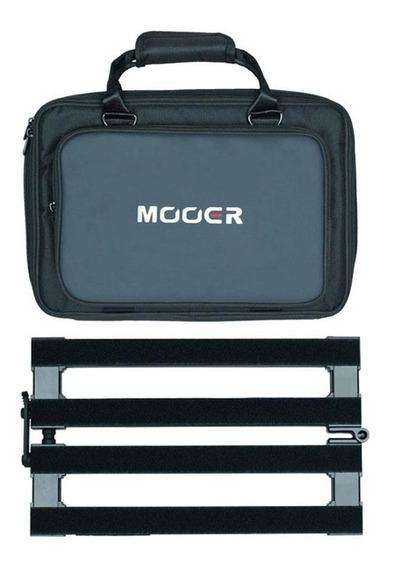 Pedalboard Mooer Pb-10   Dobrável   10 Pedais   Soft Bag