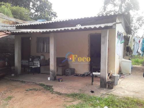Chácara Com 2 Dormitórios À Venda, 1000 M² Por R$ 180.000,00 - Portal São Marcelo - Itatiba/sp - Ch0190