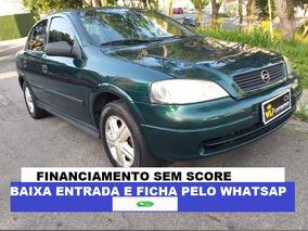 Gm Astra 2000 Lindo Financio Sem Score Entrada No Cartão