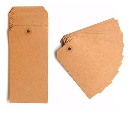 Tags Pack X 250 Etiquetas 10x5cm Etiqueta Manila Tag Oferta