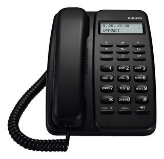 Telefono Philips Crd150b Fijo Manos Libres Id Center Hogar