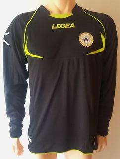 Camiseta Del Udinese De Italia Legea Talle L Mangas Largas