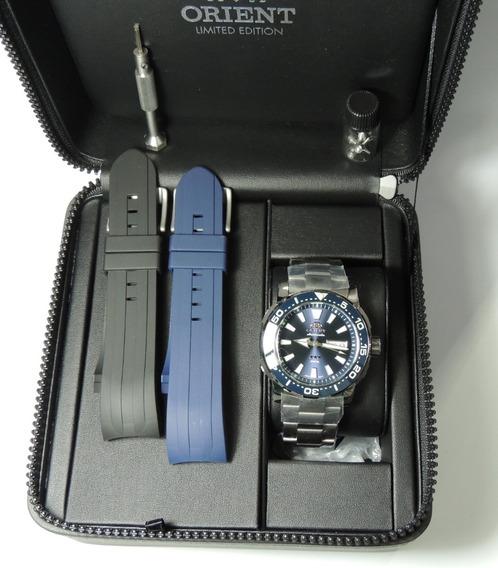 Relógio Orient Automático Poseidon Ed Ltda F49tt001 D1gx Nfe