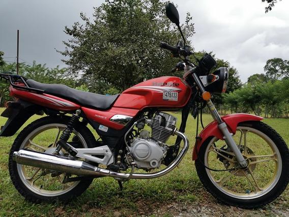 Haojue 125cc Roja