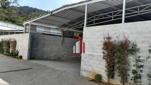 Galpão Para Alugar, 340 M² Por R$ 5.100,90/mês - Vila Jaraguá - São Paulo/sp - Ga0089