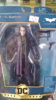 Figura Joker Heath Ledger Dc En Estuche 18 Cm Aprox