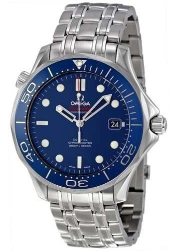 Relogio Omega 212.30.41.20.03 Seamaster Blue Dial Automatic