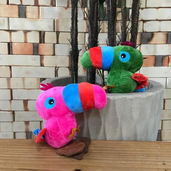 Brinquedo De Pelúcia Para Cães Polvo Tucano Cachorrinho I