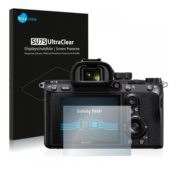 Pelicula Lcd Camera Sony Alpha A7iii A7-iii