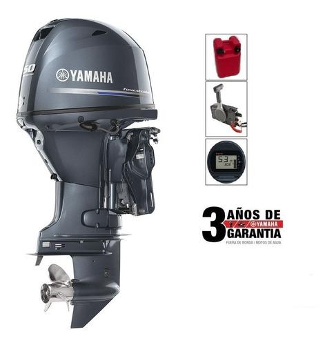 Imagen 1 de 4 de Motor Fuera De Borda Yamaha 50hp 4 Tiempos Oferta!!