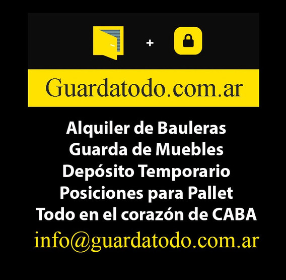 Depósitos Temporarios Guardamuebles Baulera Pallets Caba