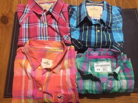 Camisas Hollister Mujer Talle L