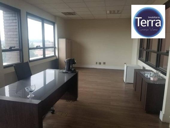 Sala Para Alugar, 65 M² Por R$ 2.200/mês - Prime Office Granja Viana - Granja Viana. - Sa0068