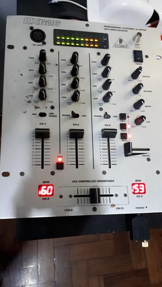 Mixer 3 Canais Behringer Dx626 (trocar Os Potenciometros)