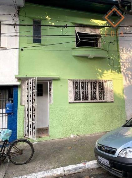 Sobrado Com 2 Dormitórios Para Alugar, 80 M² Por R$ 2.500/mês - Bela Vista - São Paulo/sp - So7732