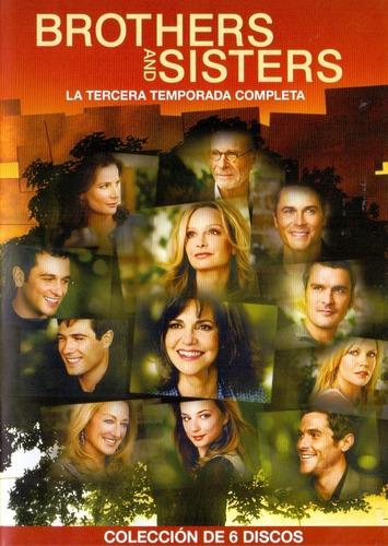 Brothers And Sisters Tercera Temporada 3 Tres Dvd
