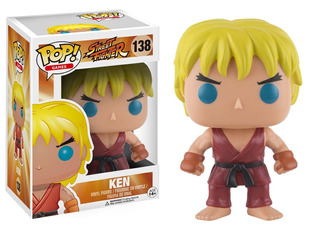 Funko Pop Games Street Fighter Ken #138