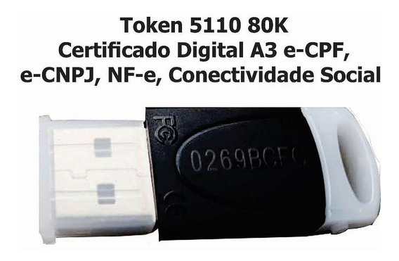 Token Safenet 5110para Certificado Digital