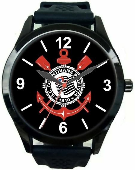 Relógio Pulso Corinthians Paulista Oferta Masculino Barato