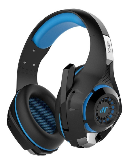Auriculares Headset Gold New 7.1 Para Sony Ps4 Azul