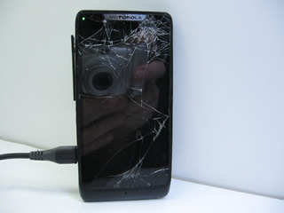 Celular Motorola Razr D3 Liga, Luz Acesa Verde Sem Imagem