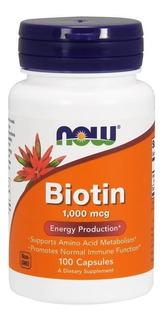 Biotina 1.000mg - Importada Dos Usa