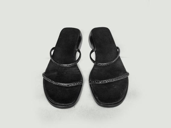 Sandália Gucci Preta Número 38