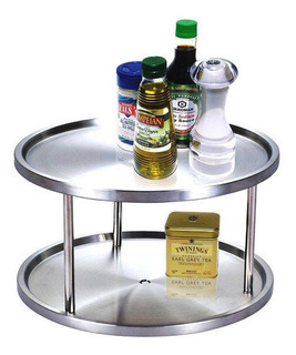 Cook N Home Lazy Susan Acero Inoxidable 10-1